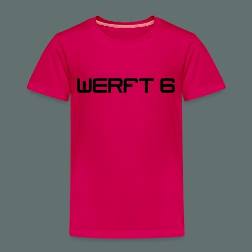 werft6 logo - Kinder Premium T-Shirt
