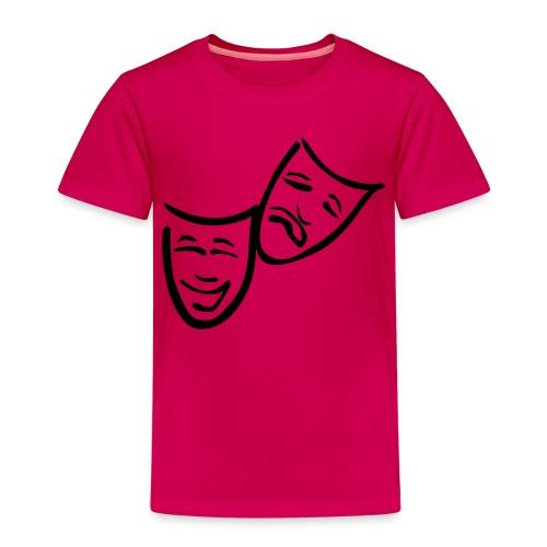 Theatermasken - Kinder Premium T-Shirt