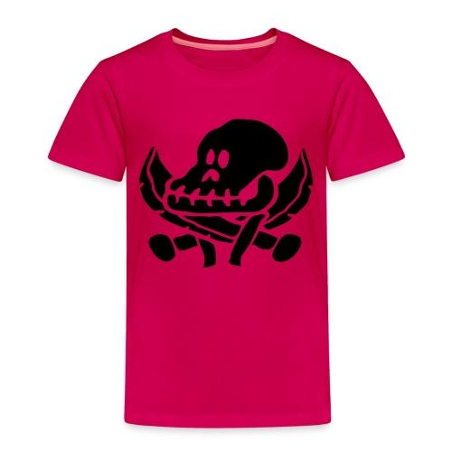 roverskalle - Premium T-skjorte for barn