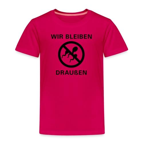 draussen_6x6 - Kinder Premium T-Shirt