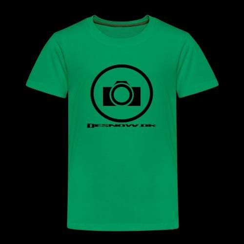 sort2 png - Børne premium T-shirt