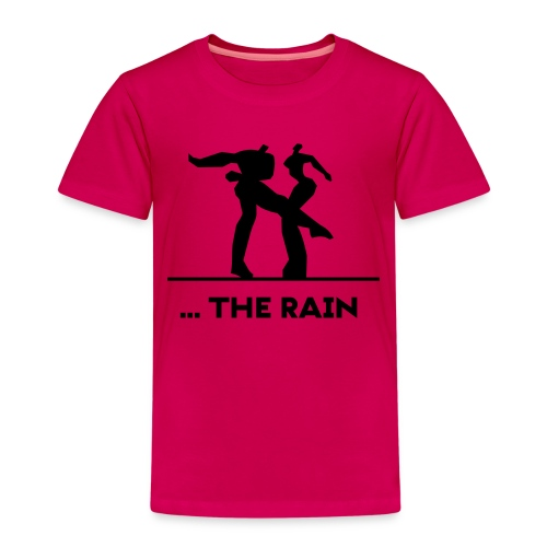 logo schwarzweiss the rain - Kinder Premium T-Shirt