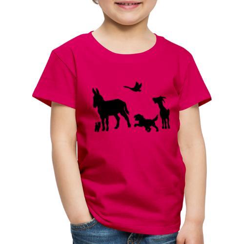 Logo - Tiere im Einklang - Kinder Premium T-Shirt