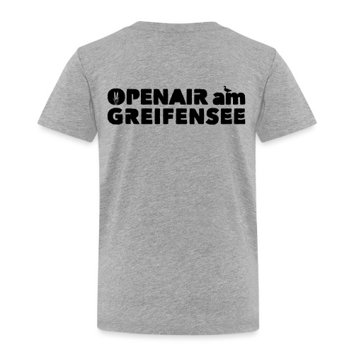 Openair am Greifensee 2018 - Kinder Premium T-Shirt