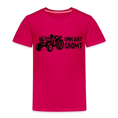 onkart gromtlogo - Premium T-skjorte for barn