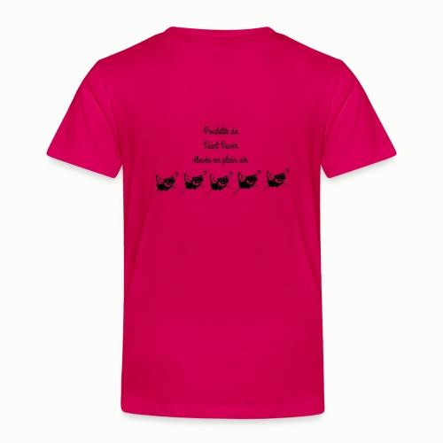 Poulette de Saint Sever élevée en plein air! - T-shirt Premium Enfant
