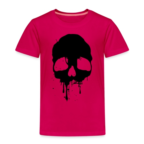 black skull - Kinder Premium T-Shirt