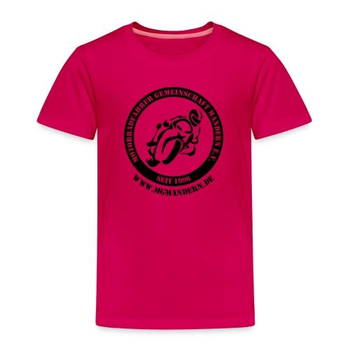 Logo Hinten mit WWW - Kinder Premium T-Shirt