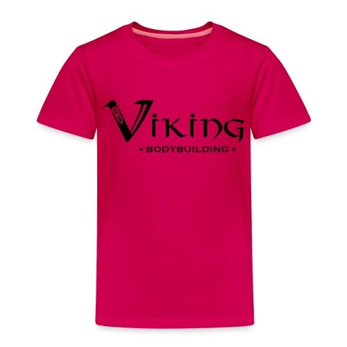 Viking Bodybuilding Font - Kinder Premium T-Shirt