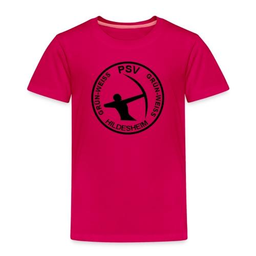 PSV Bogensport Logo rund - Kinder Premium T-Shirt