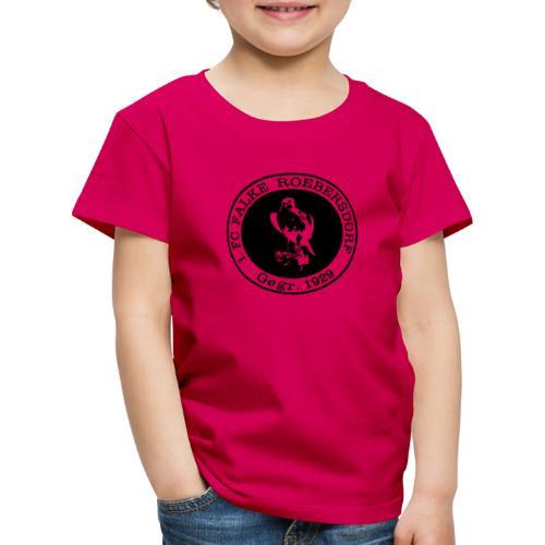VORNE FCR LOGO RETRO - Kinder Premium T-Shirt