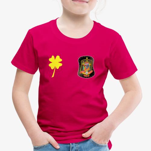 Espan a escudo y tre bol de la suerte - Camiseta premium niño