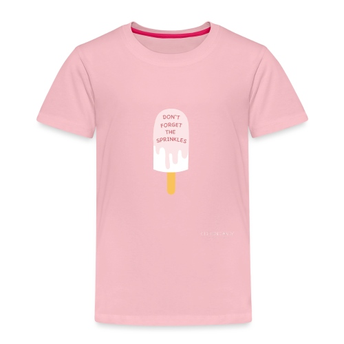 Icecream sprinkles01 png - Kinder Premium T-Shirt