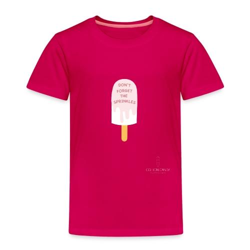 Icecream sprinkles01 png - Kinder Premium T-Shirt