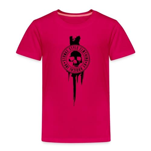 patch stroke pfade - Kinder Premium T-Shirt