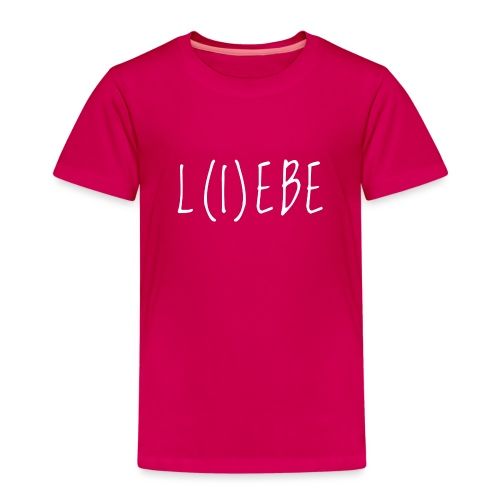 LiebeWhite - Kinder Premium T-Shirt