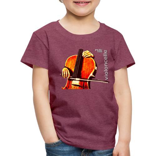 violonchelo - Camiseta premium niño