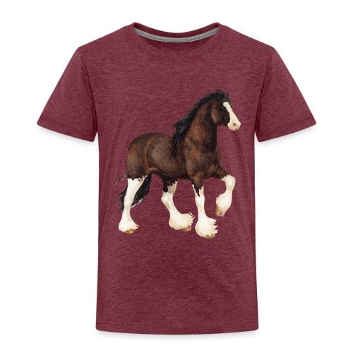 Shire Horse - Kinder Premium T-Shirt