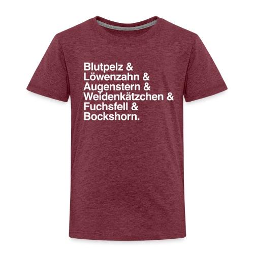 Lena Text Shirt Kriegsrat - Kinder Premium T-Shirt