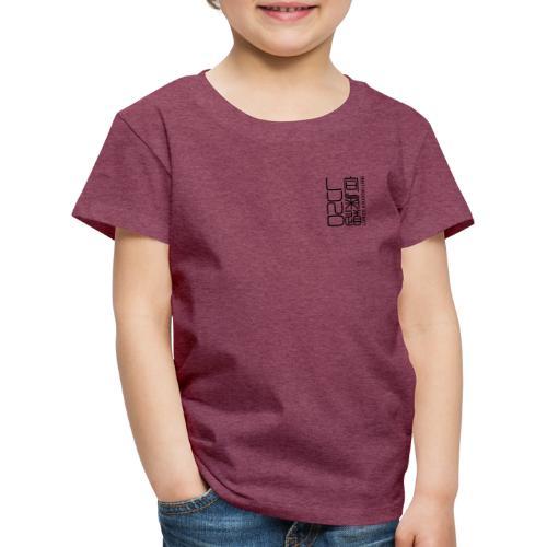 Lunds Aikidoklubb black - Premium-T-shirt barn