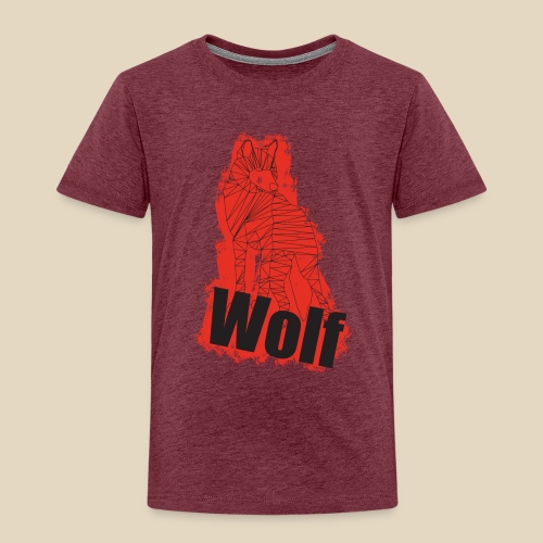 Red Wolf - T-shirt Premium Enfant