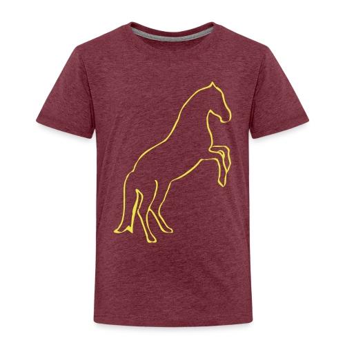 Steigendes Pferd - Kinder Premium T-Shirt