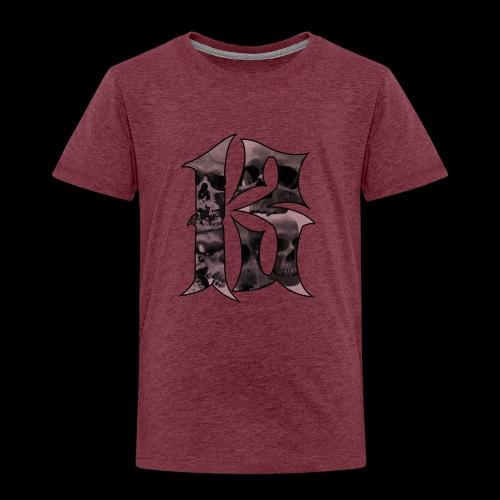 Skull thirteen - Premium-T-shirt barn