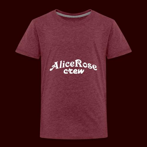 Crew white - Kids' Premium T-Shirt