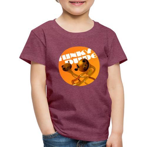 funky dude - Kinder Premium T-Shirt