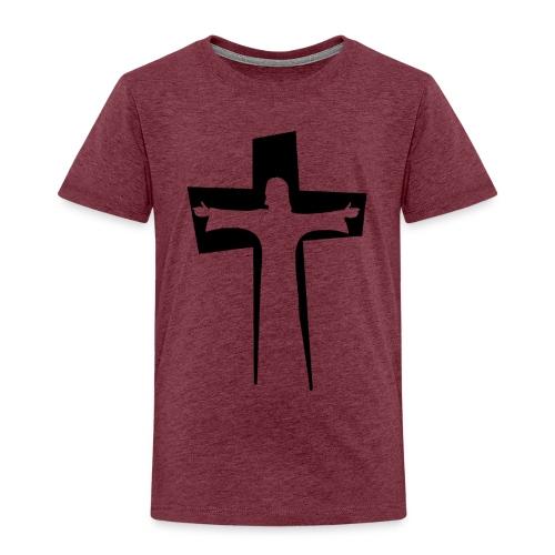 Abstrakt Jesus på korset - Premium-T-shirt barn