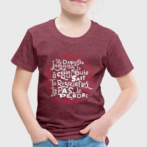 Aimer vivre et se perdre - T-shirt Premium Enfant