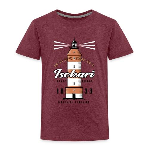 ISOKARI MAJAKKA - Tekstiilit ja lahjatuotteet. - Lasten premium t-paita