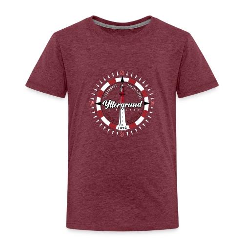 YTTERGRUND Majakka kompassi Tekstiilit ja tuotteet - Lasten premium t-paita