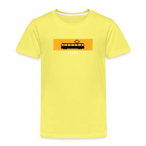 STADIN RATIKKA PYSÄKKI KYLTTI T-paidat ja lahjat - Lasten premium t-paita