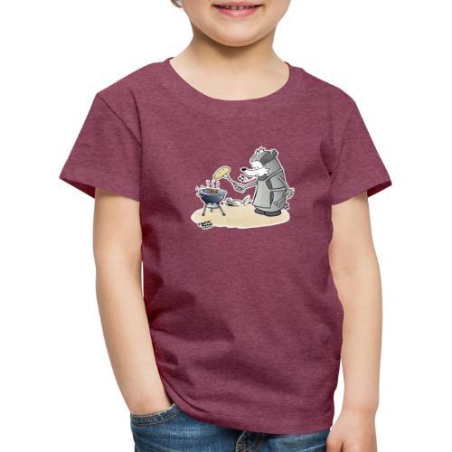 Grillmeister - Premium T-skjorte for barn