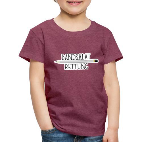 Bleistift Bandsalat Rettung 2 - Kinder Premium T-Shirt