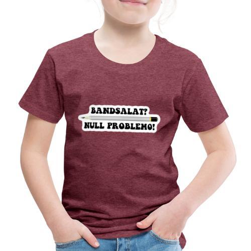Bleistift Bandsalat Null Problemo 2 - Kinder Premium T-Shirt