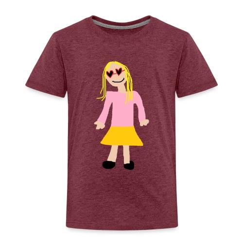 Siiri - Lasten premium t-paita