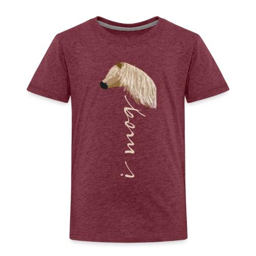 I mog Haflinger - Kinder Premium T-Shirt