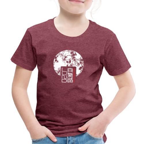 LAK pattern logo - Premium-T-shirt barn
