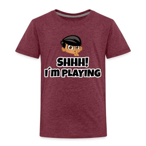 Shhh I'm Playing! Jay trivisk - Kids' Premium T-Shirt