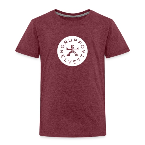 Logo davanti – Bianco - Maglietta Premium per bambini