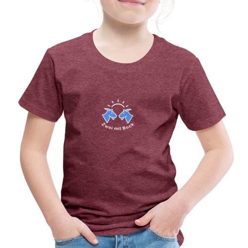 Zwei mit Bock - Original - Kinder Premium T-Shirt