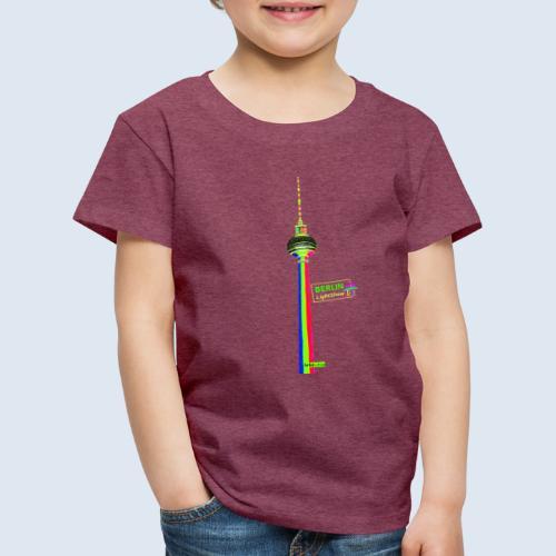 Fernsehturm Berlin PopArt ickeshop BachBilder - Kinder Premium T-Shirt