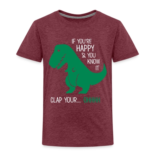 Dinosaurier - Kinder Premium T-Shirt