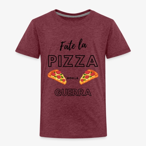 Fate la pizza, non la guerra! - Kids' Premium T-Shirt