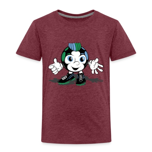 Ulzi mit Schatten Sticker - Kinder Premium T-Shirt