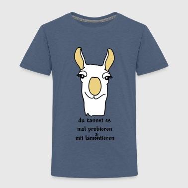 probieren - Kinder Premium T-Shirt