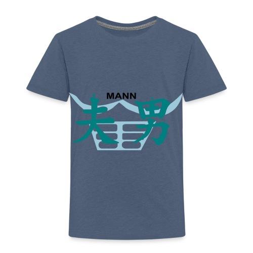 Chin Mann - Kinder Premium T-Shirt
