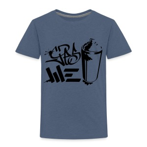 Yes We (spray)Can Graffiti handstyle tag - Kinder Premium T-Shirt